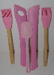 "MBA #2626-0086 ""Pink 5 Piece Set Of Baking Tools"""