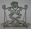 "MBA #2626-0149  ""Antique Green Paula Deen Cook Book Holder"""