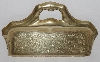 "MBA #2727-0255    ""Vintage Brass Crumb Tray"""