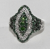 "MBA #2727-0162  ""1 CTW Fancy Green Diamond Ring"""