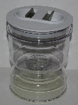 "MBA #2727-0054  ""Set Of 2 Flip-N-Serve Storage Jars"""