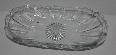 "MBA #2727-687   ""Set Of 4 Clear Glass Ice Cream Dishes"""
