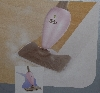 "MBA #2828-318   ""2008 Shark Euro-Pro ""Pink"" Steam Mop"""