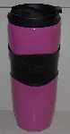 "MBA #2828-203   ""Starbucks 2008 Pink & Black Travel Mug"""