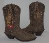 "MBA #2929-0084   "" 2009 Ariat Womens #13629 Browm Bomber Sage Cowboy Boots"
