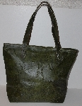 "MBA #3030-0103  ""Labrado Leather Hand Tooled Distressed Double Handle Large Tote Bag"""