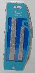"MBA #3131-0011   ""Rucci Professional Set  Of 2 Sapphire Nail Files"""