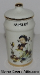 "MBA #3131-344  ""1987 M.J. Hummel ""Parsley""  Porcelain Spice Jar"""