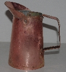 "MBA #3131-0082  ""Vintage Jenzo Copper Pitcher"""