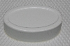 "MBA #3333-606  ""Set Of 2 White Plastic 4 Part Oval Soap Molds"""