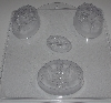 "MBA #333-381  ""Milky Way Set Of 2 Bouquets 3 Bar Soap Molds"""