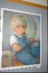 "**MBA #8-062  "" Rare 1985 ""CAMERON"" Limited Edtion Lithograph By Artist Sue Etem Custom Framed"