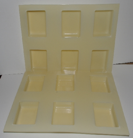"+MBA #3333-703  ""Lot Of 3 Plastic 6 Bar Soap Molds"""