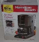 "MBA #3333-0186   ""Hamilton Beach Aroma Express 5 Cup Coffee maker Model #48134"""