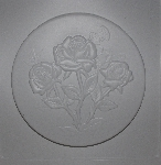 "MBA #3333-0062  ""1999 Mud Art Set Of 3 Mom's Roses Stepping Stone Molds"""