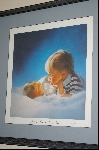 "Rare 1989 ""BROTHERLY LOVE"" Limited Edition Hand Signed & Numbered Lithograph By Artist Donald Zolan & Comes Custom Framed"