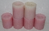 "MBA #3535-1004   ""Candle Impressions Set Of 6 Pink Flameless Candles"""