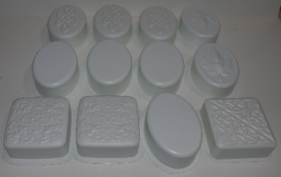 "+MBA #3535-853   ""Set Of 12 Individual Soap Molds"