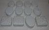 "MBA #3535-853   ""Set Of 12 Individual Soap Molds"