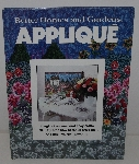 "MBA #3535-863   ""1978 Better Homes & Gardens Applique Hard Cover Book"""