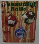 "*MBA #3535-242   ""1994 Beautiful Balls Ornament Making Book By Donna Eddins"""