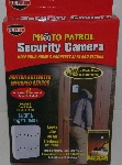 "MBA #3535-538   ""US Patrol Photo Patrol Security Camera"""