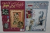 "MBA #3535-122  ""Set Of 2 2004 Cross Stitch & Beading Project  Books"""