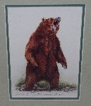 "MBA #3535-129   ""2000 When Good Bears Go Bad Print By Kathryn Darling"""