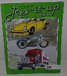 "MBA #3535-217   "" Rev-It-Up Two Stained Glass Pattern Book"""