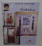 "MBA #3535-925   ""1997 Carol Smith's Quick & Easy Creative Interiors Project Book With Patterns"""