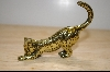 "+MBA #4-083  ""1986 Brass  Asian Franklin Mint Collectors Cat"