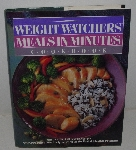 "MBA #3636-0042   ""1989 Weight Watchers Measl & Minutes Hard Cover Cook Book"""
