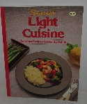 "MBA #3636-173   ""1986 Sunset Light Cuisine Paper Back Cook Book"""