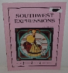 "MBA #3636-141   ""1990 Southwest Expressions Stained Glass Pattern Book By Gloria Fohr"""