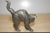 "+MBA #4-099  ""1986 American Pewter Franklin Mint Cat"