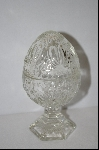 **2 Piece Clear Glass Egg Dish