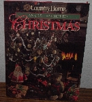 "MBA #3939-161  ""1992 Country Christmas An Old Fashioned Christmas"" Hard Cover With Jacket"""