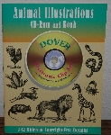 "MBA #3939-414  ""1998 Animal Illustrations CD-Rom & Book  Electronic Clip Art"""