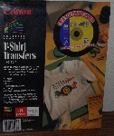 "MBA #3939-396   ""1996 Cannon T-Shirts Transfers TR-101 With Software"""