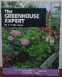 "MBA #3939-259  ""1997 The Greenhouse Expert By Dr. D. G. Hessayon"" Paper Back"