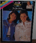 "MBA #3939-0048   ""1993 Tulip Treasures ""Denim Dazzle""  Jassy Jeweled Transfer Patterns"""