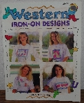 "MBA #3939-0040   ""1993 Gick Publishing ""Western Iron On Transfers"" Project Book"