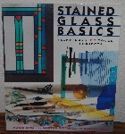 "MBA #4040-176  ""1996 Stained Glass Basics By Chris Rich"" Paper Back"