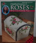 "MBA #4040-220   ""1998 Priscilla's Lessons In Roses Decorative Painting #9418"" By Plaid"