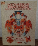 "MBA #4040-229  ""1991 North American Indian Designs Iron On Transfer Patterns"" By Madeleine Orban-Szontagh"