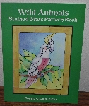 "MBA #4040-233  ""1996 Wild Animals Stained Glass Pattern Book"" By Connie Clough Eaton"