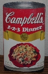"MBA #4040-245  ""2004 Campbell's 1-2-3 Dinner Board Book Cook Book"""