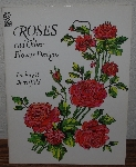 "MBA #4040-274   ""1996 Roses & Other Flower Designs By Lindsay P. Butterfield"" Paper Back"