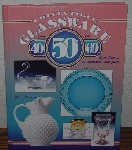 "MBA #4040-0020  ""2002 Collectible Glassware From The 40's, 50's & 60's Sixth Edition By Gene Florence"" Hard Cover"