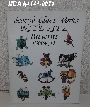 "MBA #4141-0071  ""1990 Scarab Glass Works Bite Lite Patterns Book #2"" Stained Glass Pattern Book"